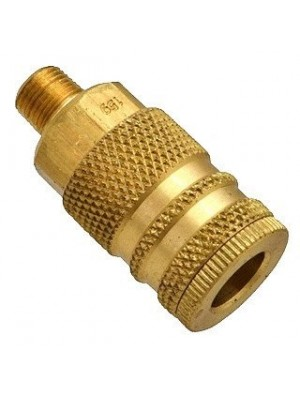 "1/4"" NPT MALE M COUPLER BODY AIR FITTING"