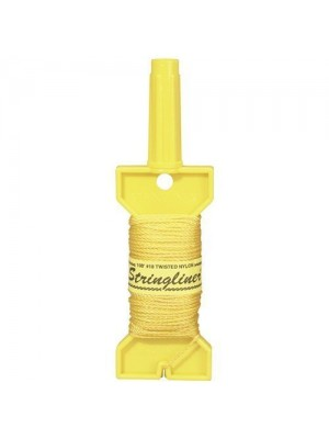 STRINGLINER HOLDER WITH 500' TWISTED GOLD #18 CONSTRUCTION LINE