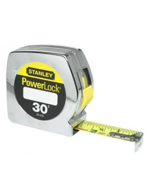 Stanley 33-430 Powerlock 30-Foot-by-1-Inch Measuring Tape