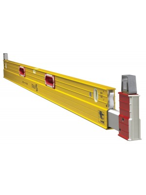 STABILA 35712, TYPE 2 106T EXTENDABLE PLATE TO PLATE CONSTRUCTION LEVEL WITH CARRYING CASE MAINTENANCE KIT