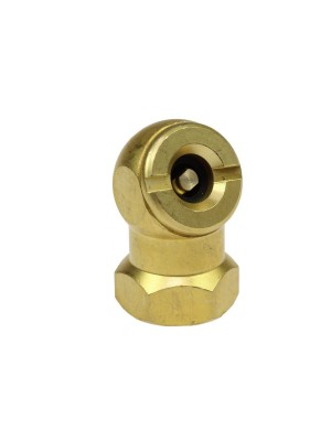 "CLOSED BALL CHUCK AND CLIP 1/4"" FPT"