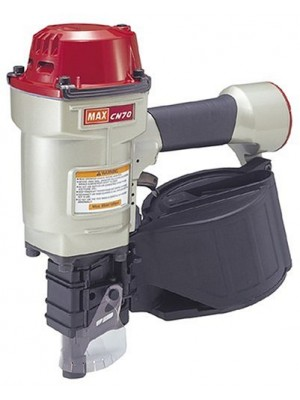 Max CN70 1-3/4-Inch to 2-3/4-Inch Heavy Duty Coil Nailer for Siding