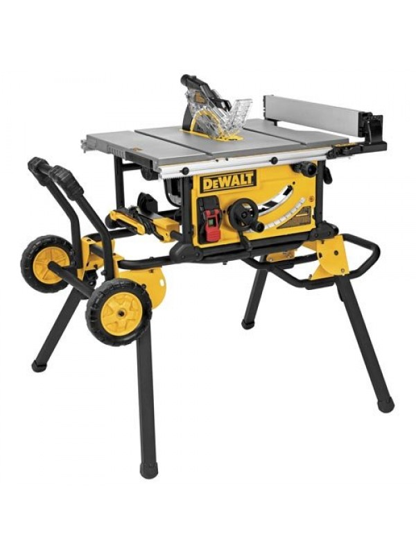 "JOBSITE TABLE SAW WITH 32-1/2"" RIP CAPACIATY AND ROLLING STAND"