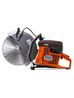 """K760 II Concrete Saw with 14"""" VH5 diamond blade (Only 1 Blade Included)"""