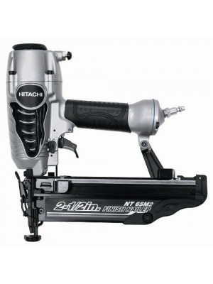 Hitachi NT65M2S 2-1/2-Inch 16-Gauge Finish Nailer with Integrated Air Duster, Silver