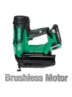 "NT1865DM 2-1/2"" 18V HITACHI CORDLESS BRUSHLESS LITHIUM ION 16GA STRAIGHT FINISH NAILER"